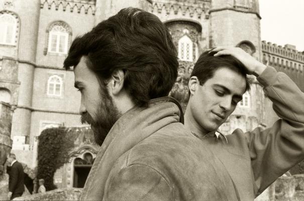 Palácio da Pena, 1981  Eu e o meu amigo Vasco  Fotografia  Gelatin-Silver Print