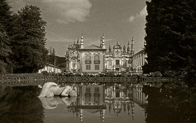 Luís Barreira  Palácio de Mateus, 1983  Fotografia  Gelatin-Silver Print