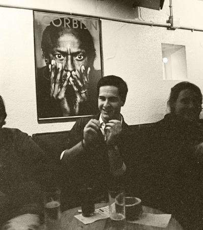 Luís Barreira  Bernardo Sassetti no Hot Club, Lisboa, 1991  Fotografia  Gelatin-Silver Print