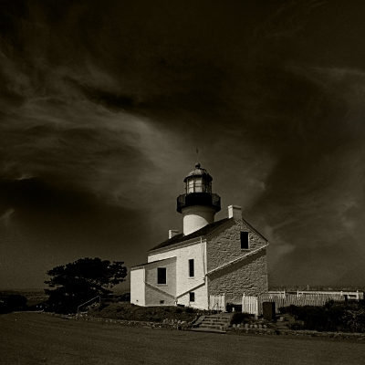 Luís Barreira  Light House, San Diego, 1994  Fotografia  Gelatin Silver print