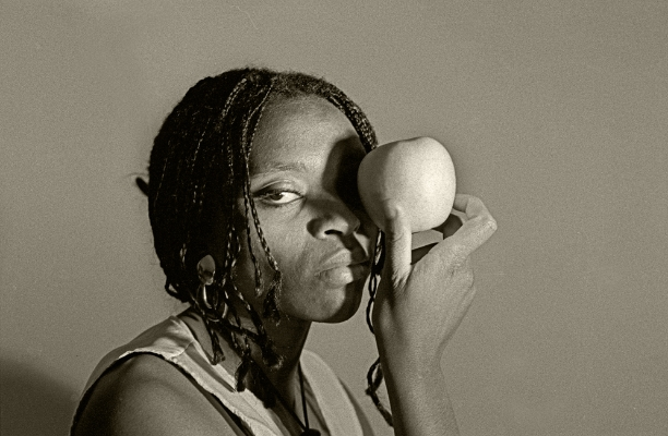 Luís Barreira  an apple (unknown), 1994  Fotografia  Gelatin Silver print