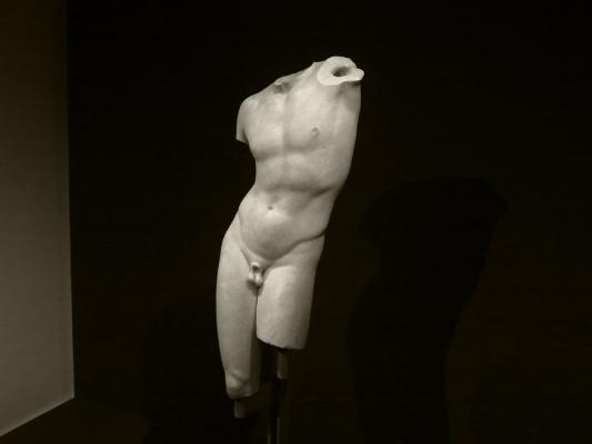 Torso de Pothos   Museu Nacional de Arte Antiga   Foto: Luís Barreira  arquivo: 04_17_IMG_7799, 2016