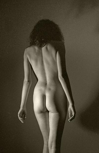 Luís Barreira  nu [clássico] 1993  Fotografia  Gelatin Silver print