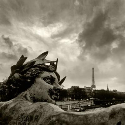 Luís Barreira  Ponte Alexandre III, Paris, 1989  Fotografia  Gelatin Silver print