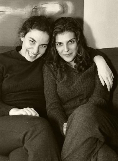 Luís Barreira  Joana Consiglieri e Maria João Bom, 1999  Fotografia  Gelatin Silver print  arquivo:493_19867, 1999