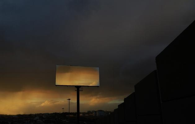 Luís Barreira  sunset in empty space, 2014  Fotografia  série: empty space  arquivo:02_5082, 2014