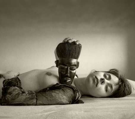 Luís Barreira   noire et blanche , 1991  série:    La Femme     Fotografia  Gelatin-Silver Print  30x40 cm  arquivo:F_129_902, 1991