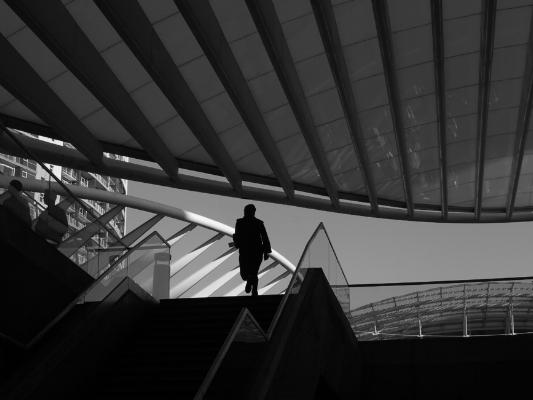 Luís Barreira  Gare do Oriente, Lisboa, 2013  Fotografia  Série:  LISBOA   arquivo:12_4160, 2013