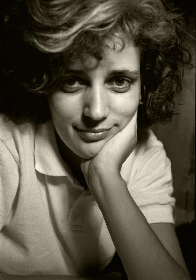 Luís Barreira  Cristina Castro, 1988  Fotografia  Gelatin Silver print  série: portraits  arquivo:F_051_5435, 1988