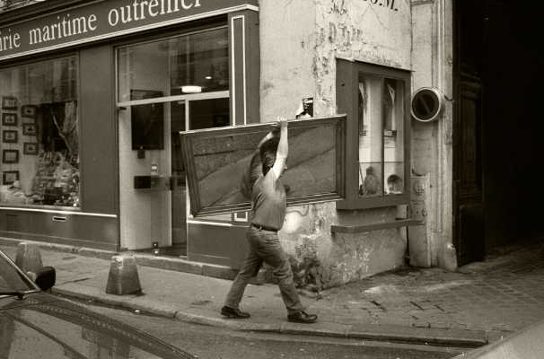 Luís Barreira  Paris, 1989  fotografia  Gelatin Silver print  arquivo:F_067_6131, 1989