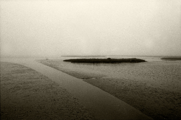 Luís Barreira  Sapal  Rio Tejo  1993  Fotografia  Gelatin Silver print  serie:   Landscapes    arquivo:F_168_11195, 1993