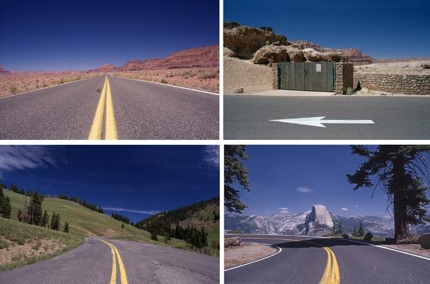 Luís Barreira  Four Postcards from USA, 2002  série:  Four unposted Letters   Fotografia  Diapositivos digitalizados  arquivo: 2002