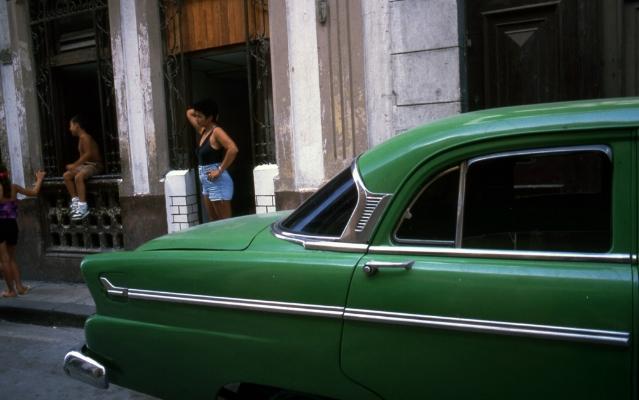 Luís Barreira  Havana, 1997  Série: Cuba'97  Fotografia  Diapositivo digitalizado  arquivo:SLIDE_21665, 1997