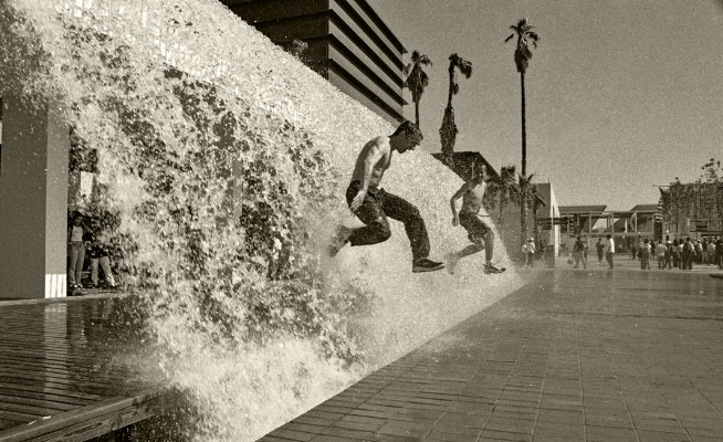 Luís Barreira  Expo´98  série:  no parque   Fotografia  arquivo:FOLIO_384_6983, 1998