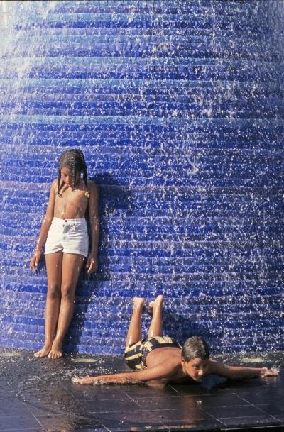 Luís Barreira  Expo'98  Lisboa, 1998  série: no parque  Fotografia  arquivo:FOLIO_386_16978, 1998