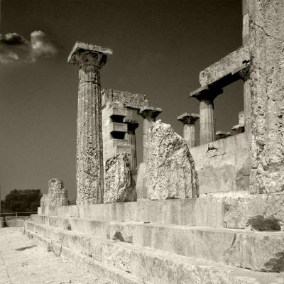 Luís Barreira  Ruínas, 1984  Grécia  série: antiguidade clássica  Fotografia  arquivo:1984_SLIDE_1347