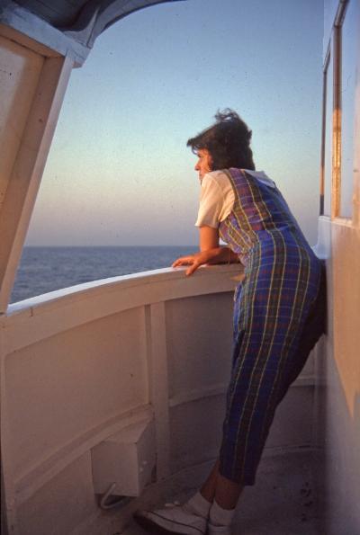 Margarida  by  Luís Barreira, 1984  Grécia  Fotografia  arquivo:1984_SLIDE_Grecia_1329