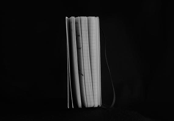 Luís Barreira  Moleskine, 2019  série: palavras nuas  Fotografia  arquivo: 2019_05_29_NK2_4838