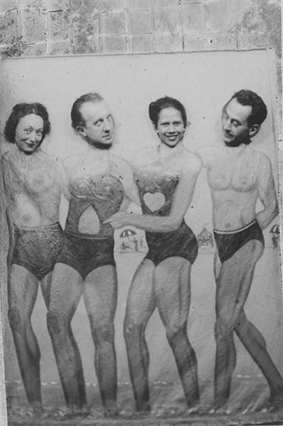 Head games: Nusch and Paul Éluard; Man Ray and Adrienne Fidelin, 1937  série: MASTERS
