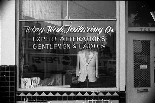 Luís Barreira  wing wah tailoring co., San Francisco, 1994  Fotografia  Gelatin Silver print