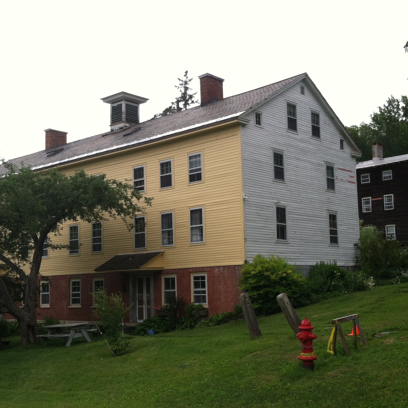 The Razzaq ('provider') building which contains the library, dining hall, and guest rooms. — N.M-Y. '15