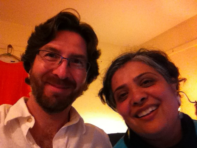 Netanel Miles-Yépez and Deepa Gulrukh Patel at the Abode of the Message.