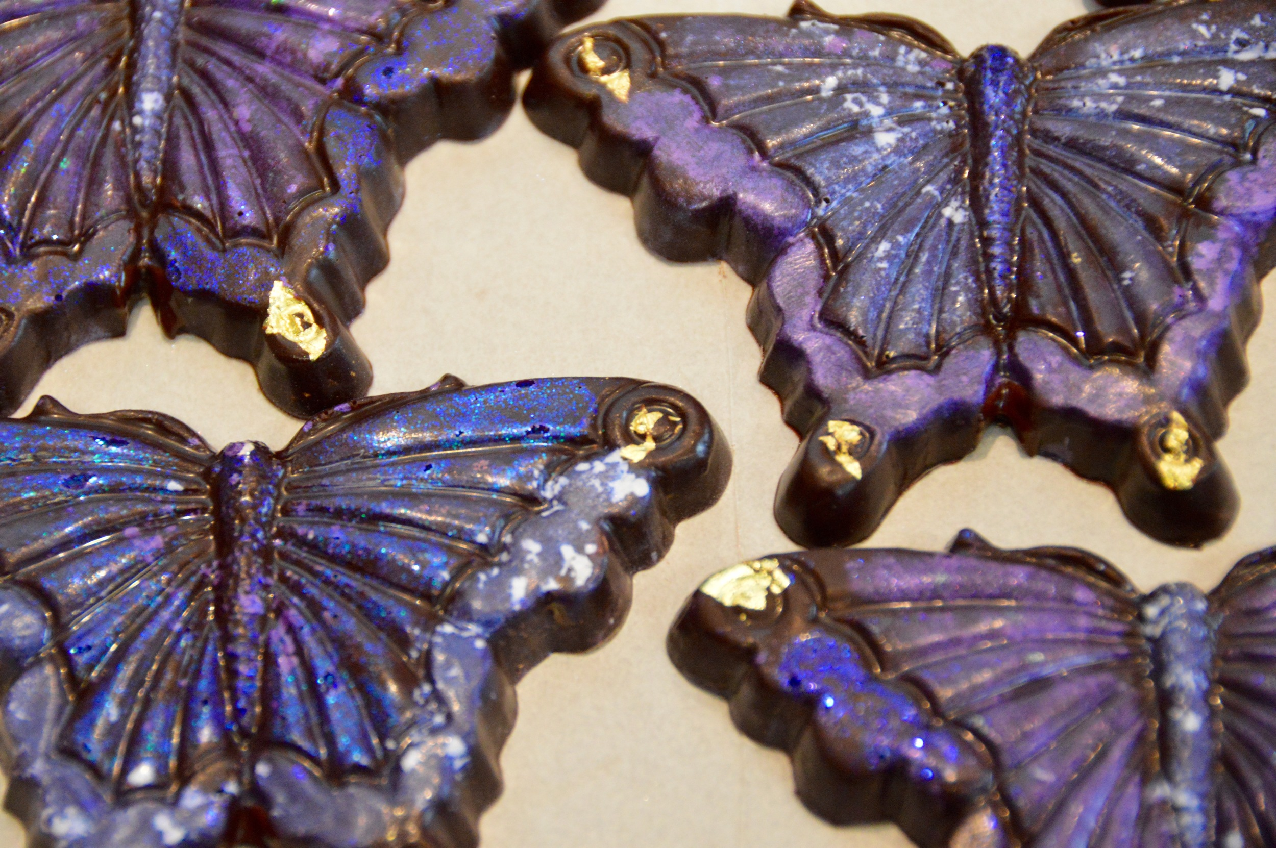72% dark chocolate 'beautiful butterfly'