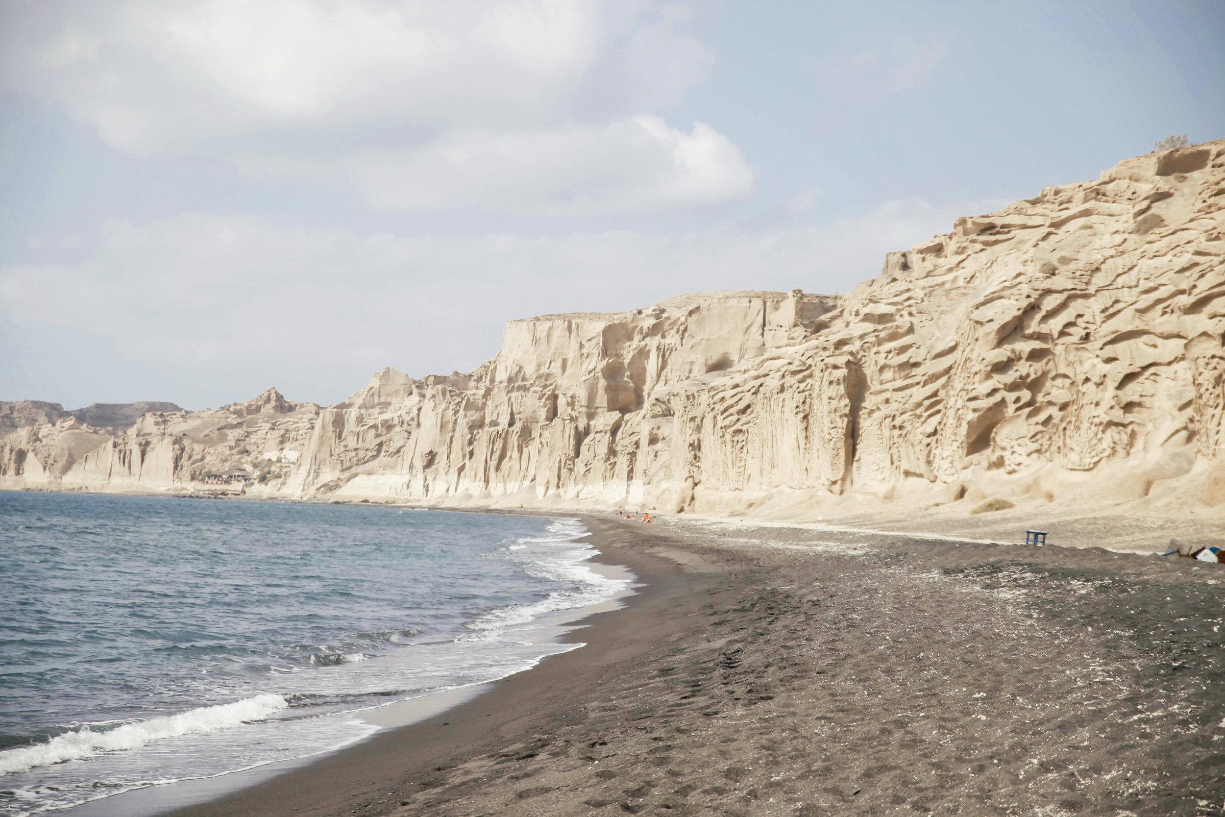 """White Cliffs"" Santorini, Greece"