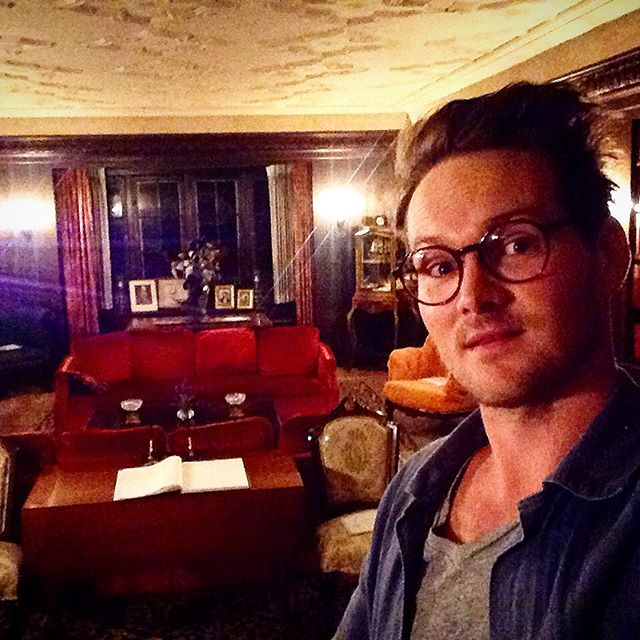 Adam and Aaron Nee visit Quarry Farm where Mark Twain summered, writing many of his classics. Band of Robbers plays tonight in Elmira for Twain scholars and fans! The house has a true feeling of magic to it. #bandofrobbers