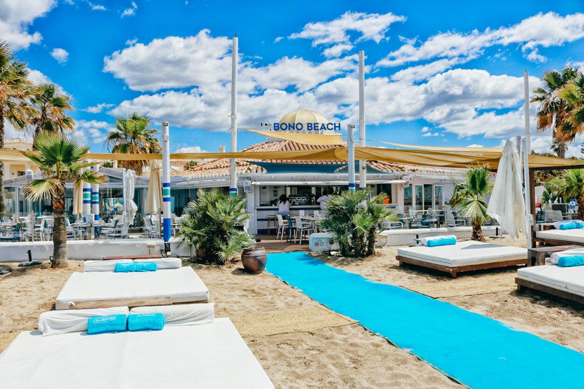 Saturday BONO BEACH - From 1pm to early evening we'll be relaxing at a beach club where kids and adults alike can have a great time. Bring your swimming suites and stories from the 90's!