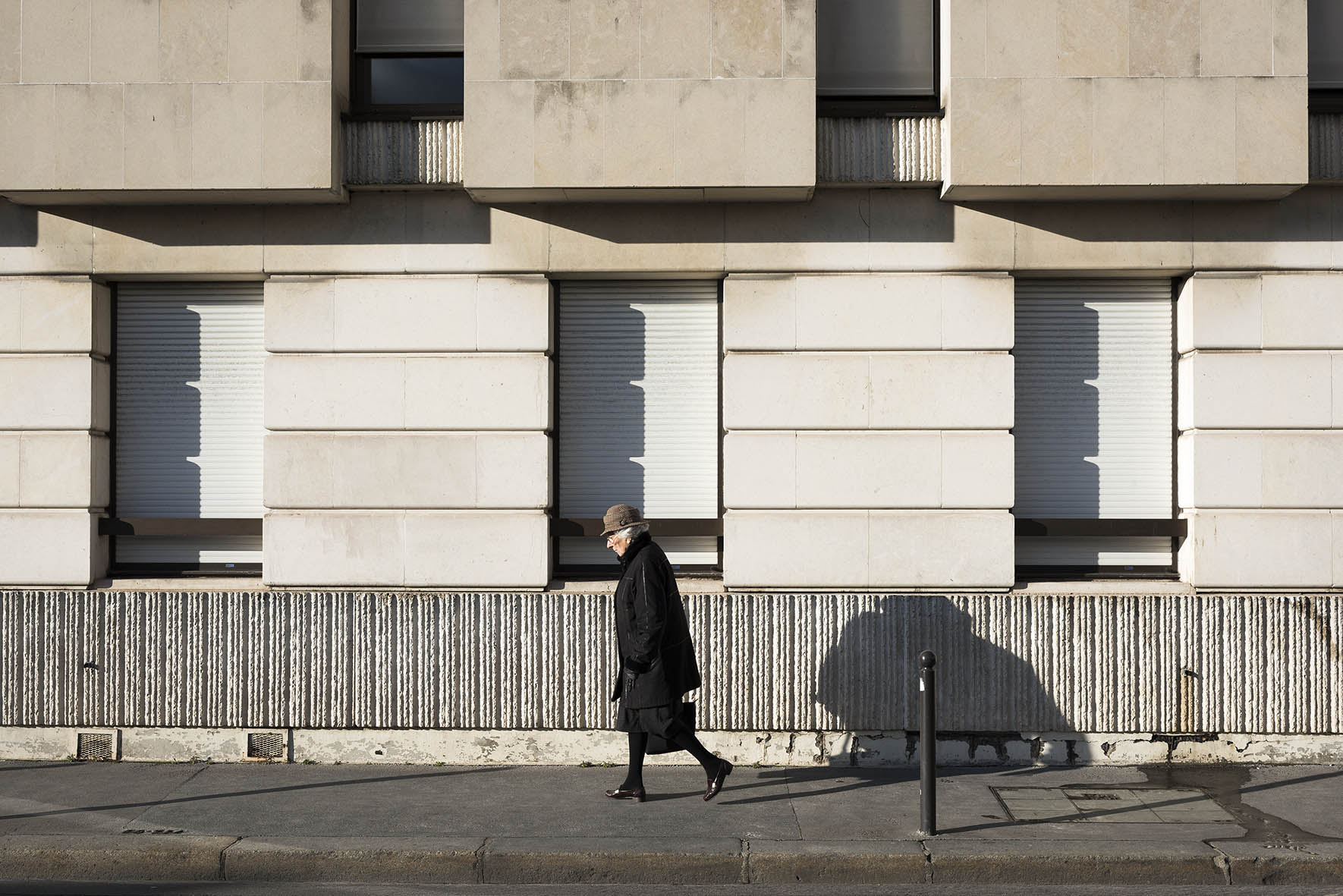 09.03.16 28-30 rue de Babylone , 2016, archival photographic print, 23 x 18 cm