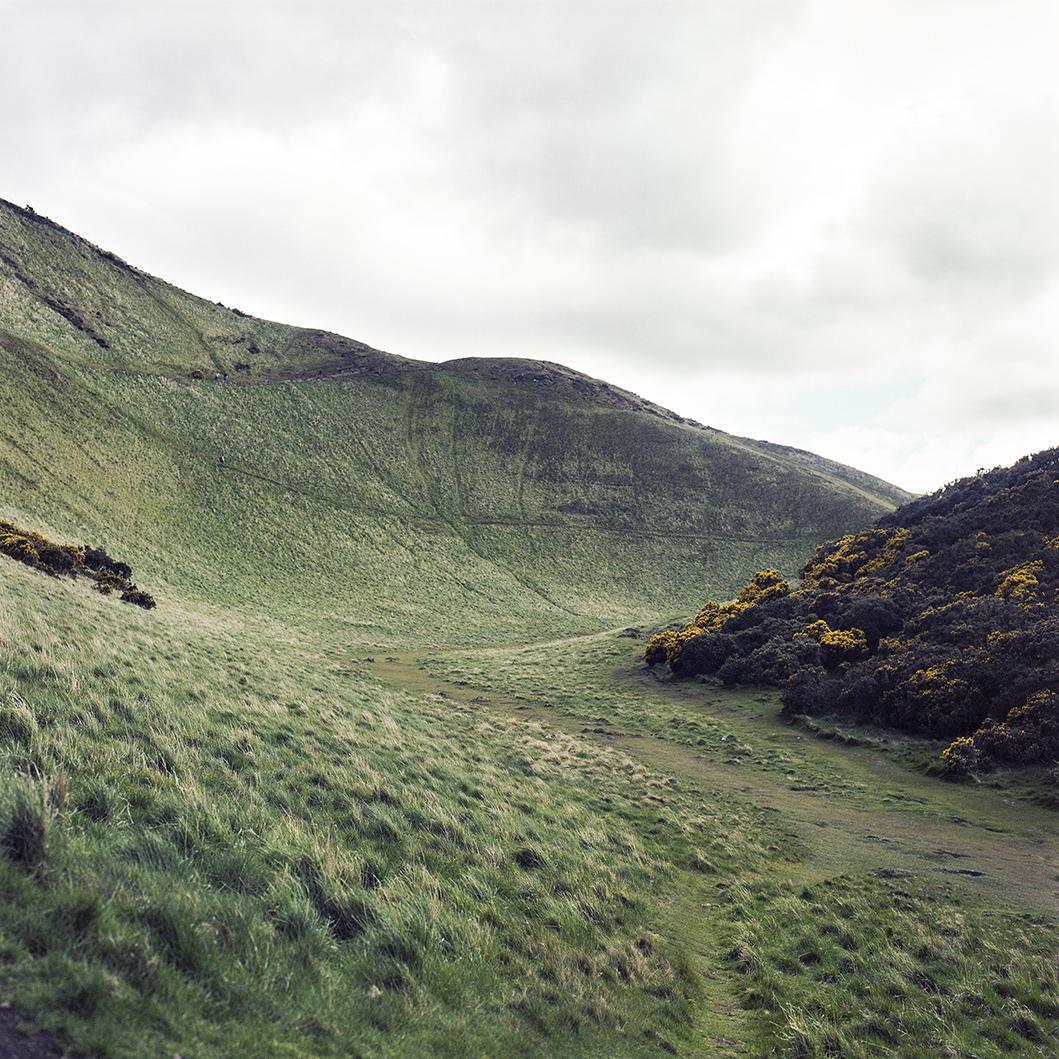 02.05.16 The Edge of Edinburgh , 2016 archival photographic print, 42 x 42 cm