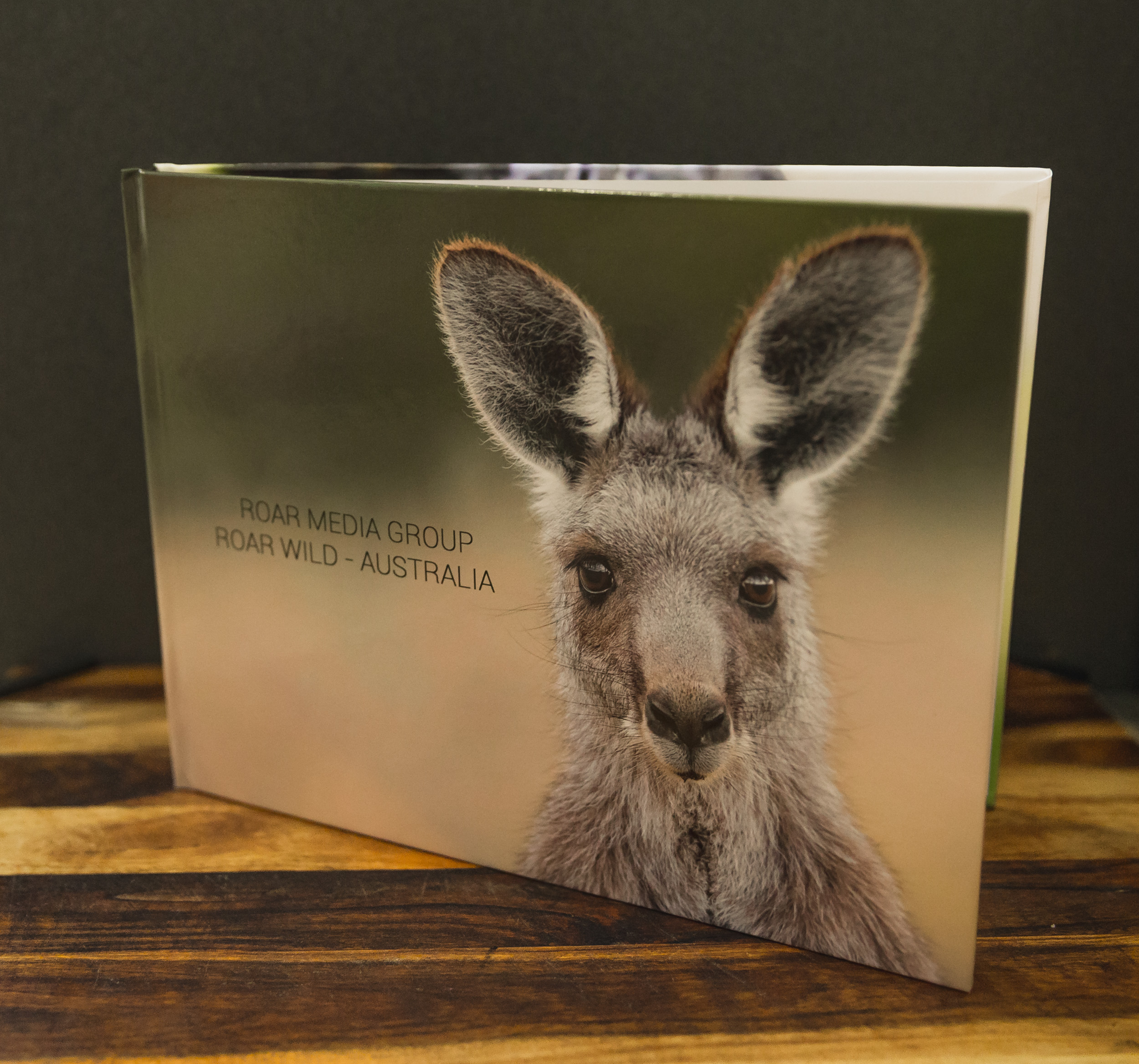 Roar Media Group Roar Wild Australia Coffee Table Book Limited Edition Roar Media Group