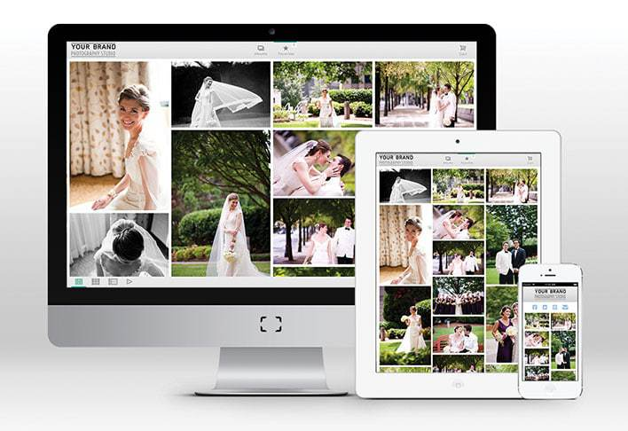 Online Wedding Photo Gallery