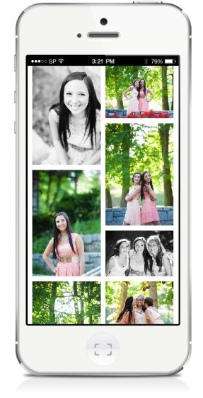 Mobile Phone App for Wedding Photos