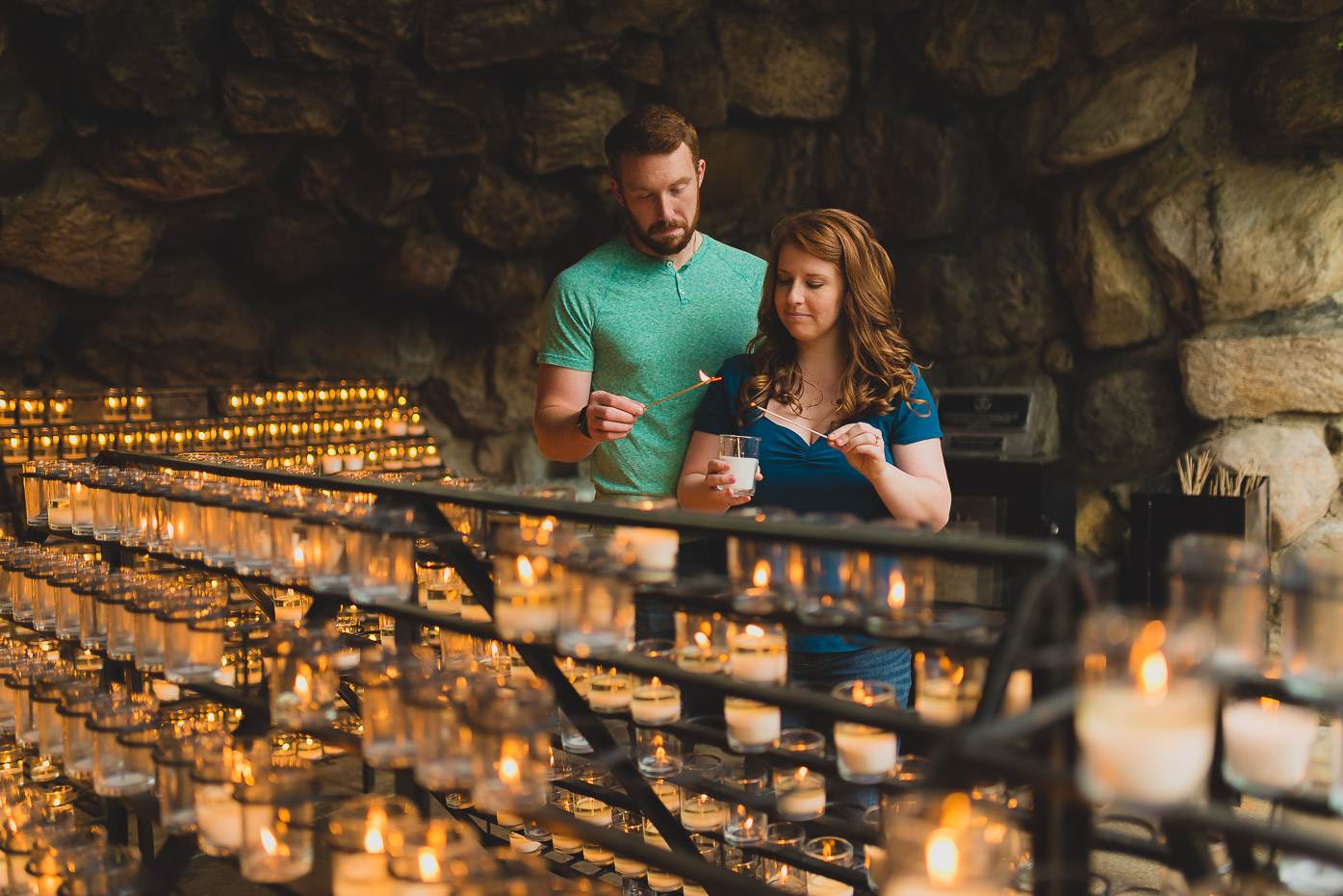 Grotto Notre Dame Candles