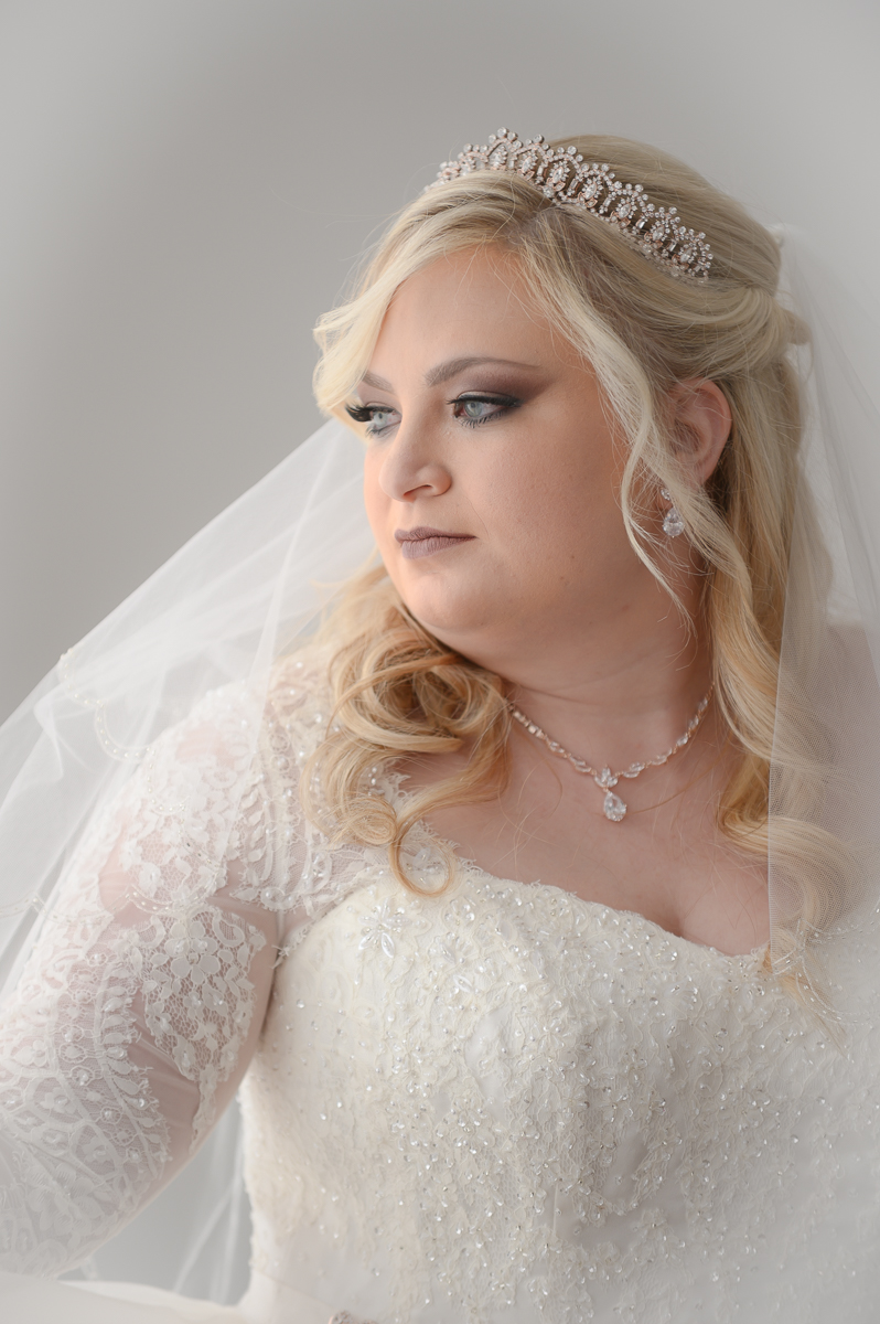 Bride Photo at Holiday Inn Conference Center Mishawaka