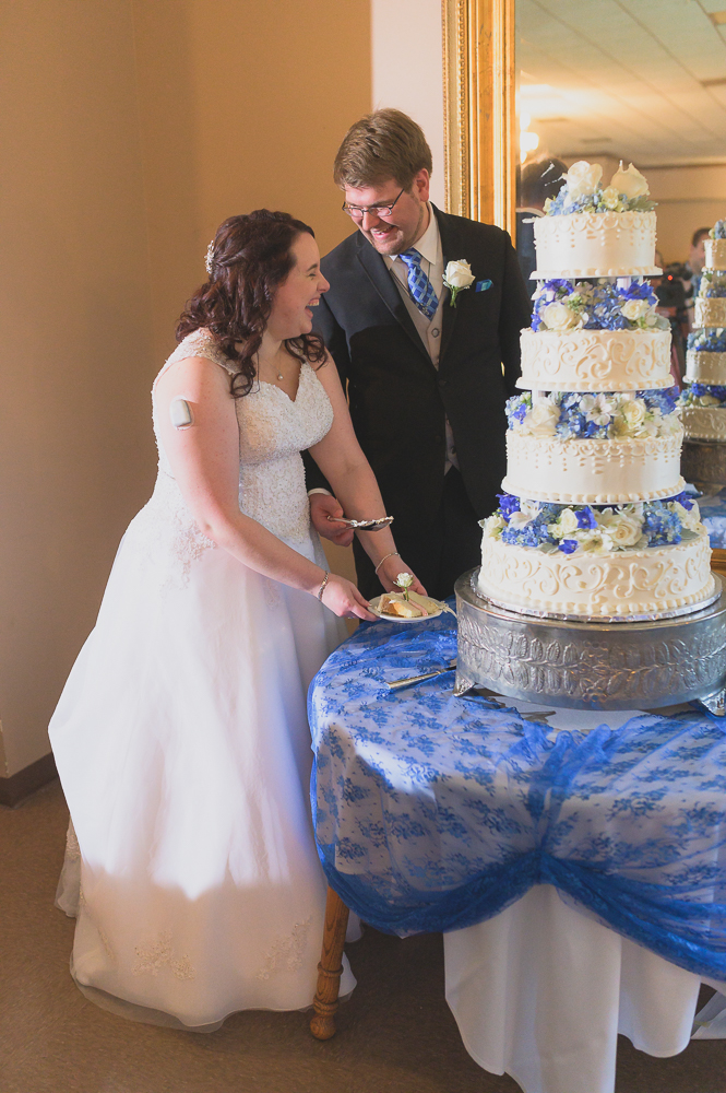 Cake cutting in South Bend