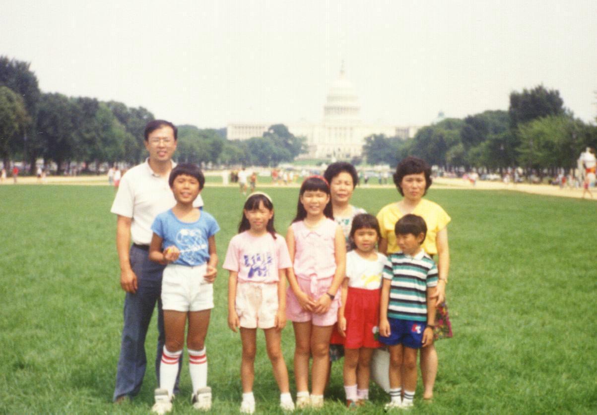 A few crazy Midwest Asians go to DC.