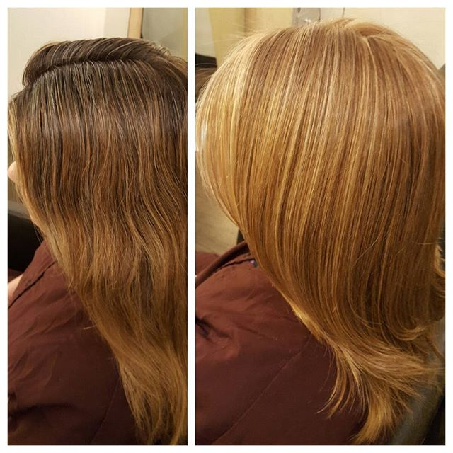 ASALONOFSTUDIOCITY this client crossed the bridge to soft caramel blonde on blonde for Summer.  Base color @schwarzkopf , partial highlights, and long layers.  Done by stylist Todd Sterling Brown @toddsterlingbrn .  #schwarzkopfprofessional #caramel #toddsterlingbrown  #blonde #colorist  #studiocity