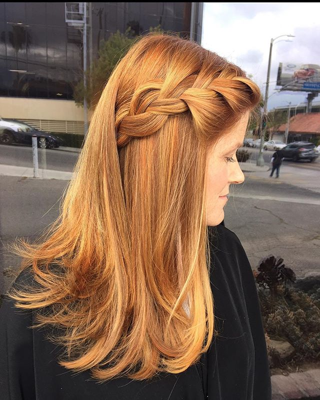 Hair done by @chantejewett #hair#hairstylist #braid#braidsfordays#redhead#copperhair