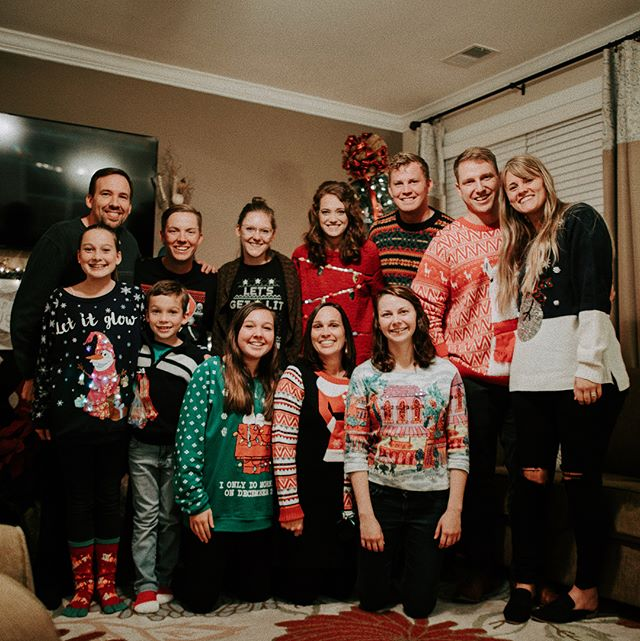 Can't have Christmas without a little Christmas party and a little White Elephant ☺️. These people make us feel a little closer to home. So grateful for them all, and their hearts for Christ. Merry early Christmas and Happy Star Wars premier day! #lifegroup