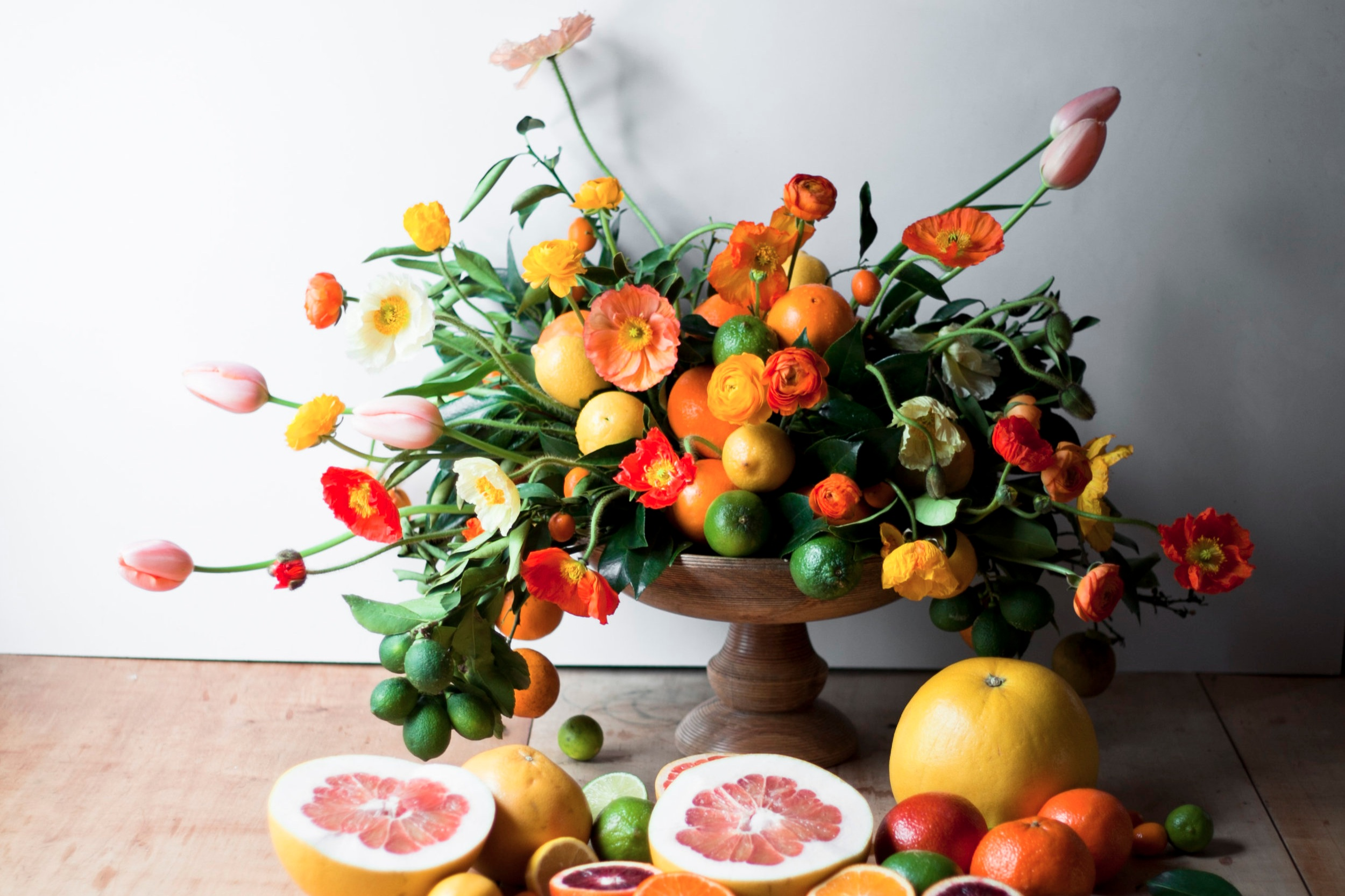 Food and Flowers -