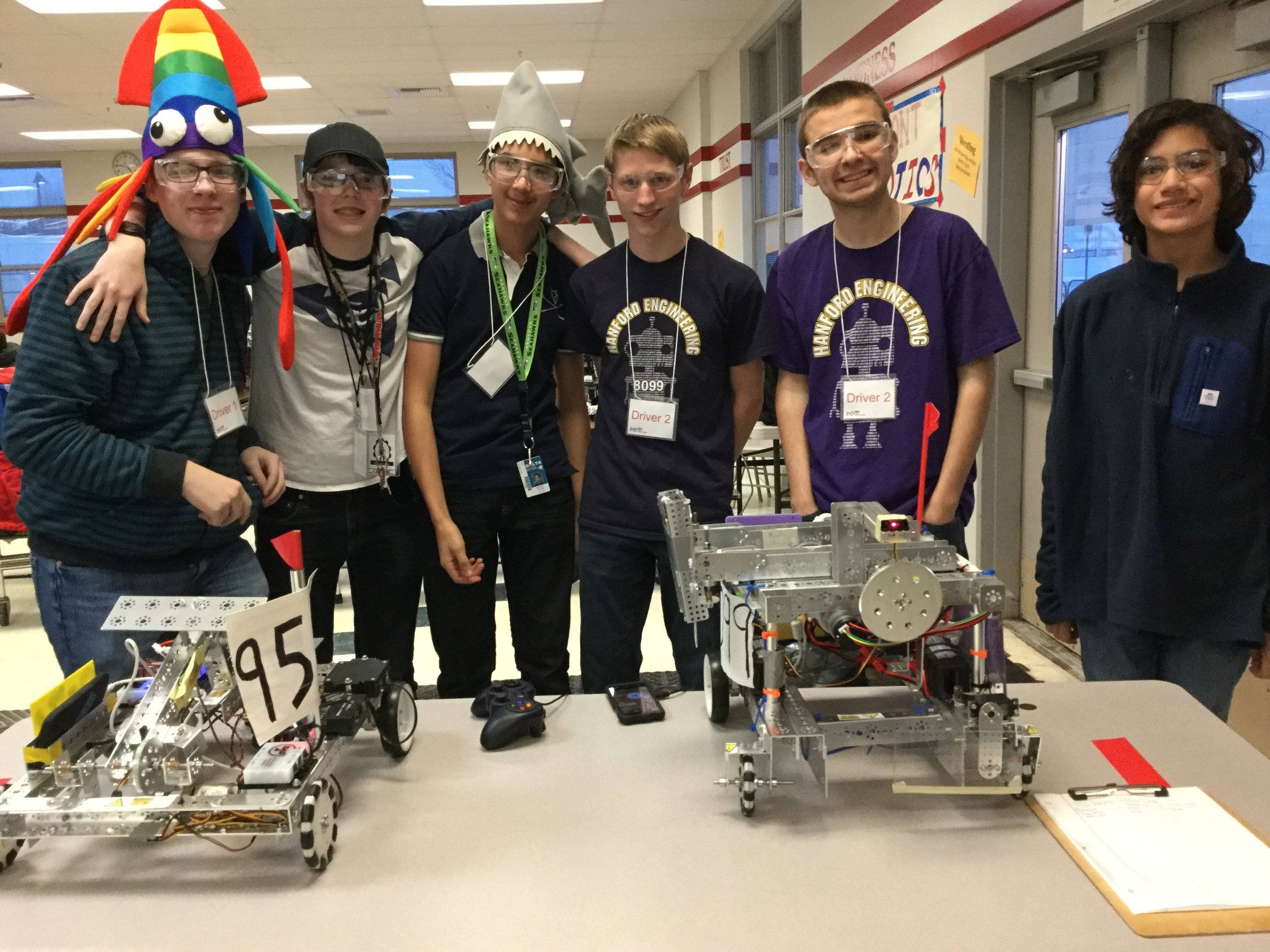 Congrats to the 16-17 Delta Robotics team - on to State!