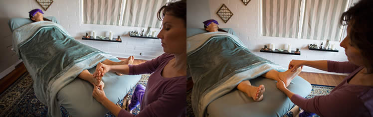 Reflexology Treatment at InnEssence Therapy in Honolulu