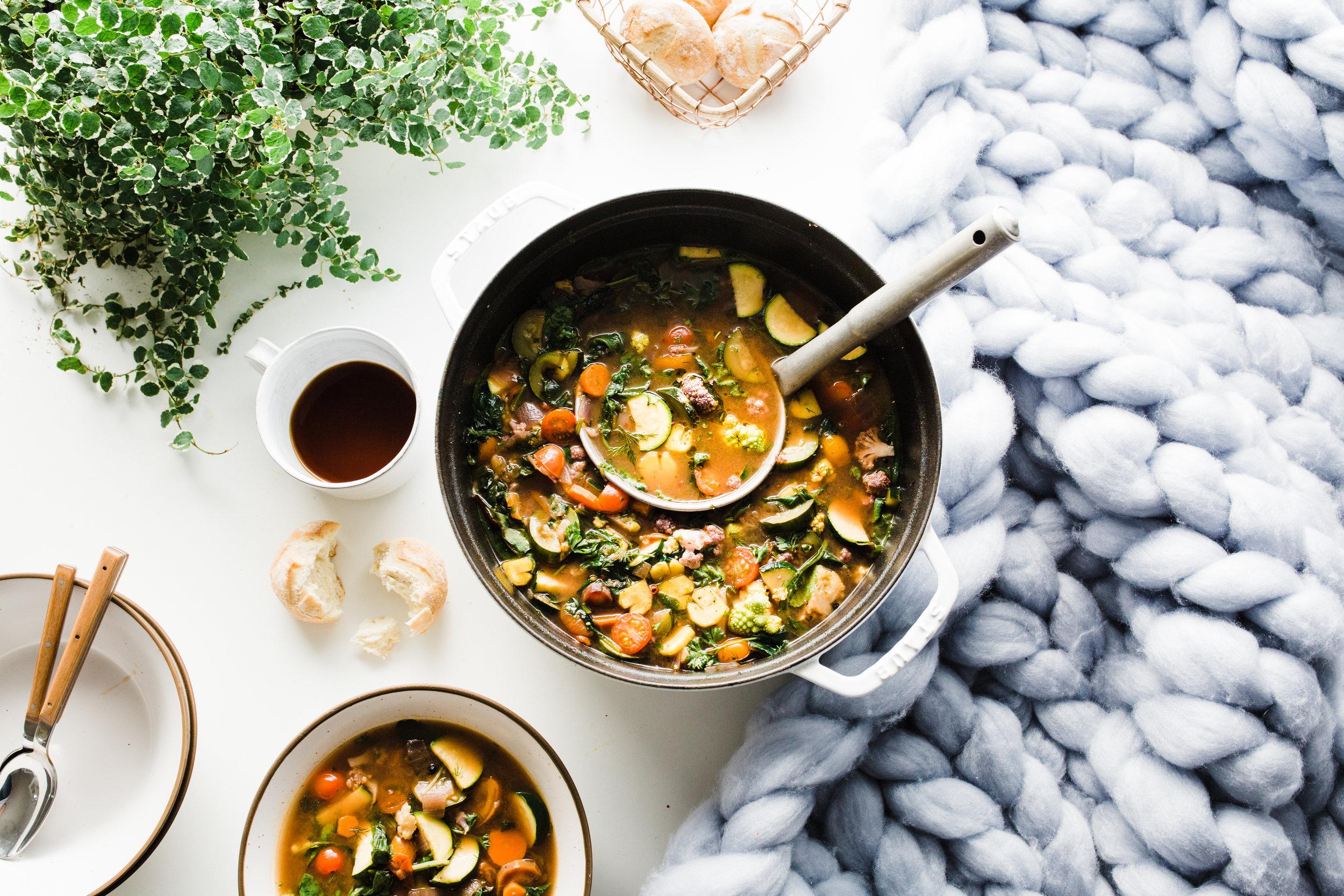 I Heart Veggies Soup (Low-Carb, Vegetarian, Keto)