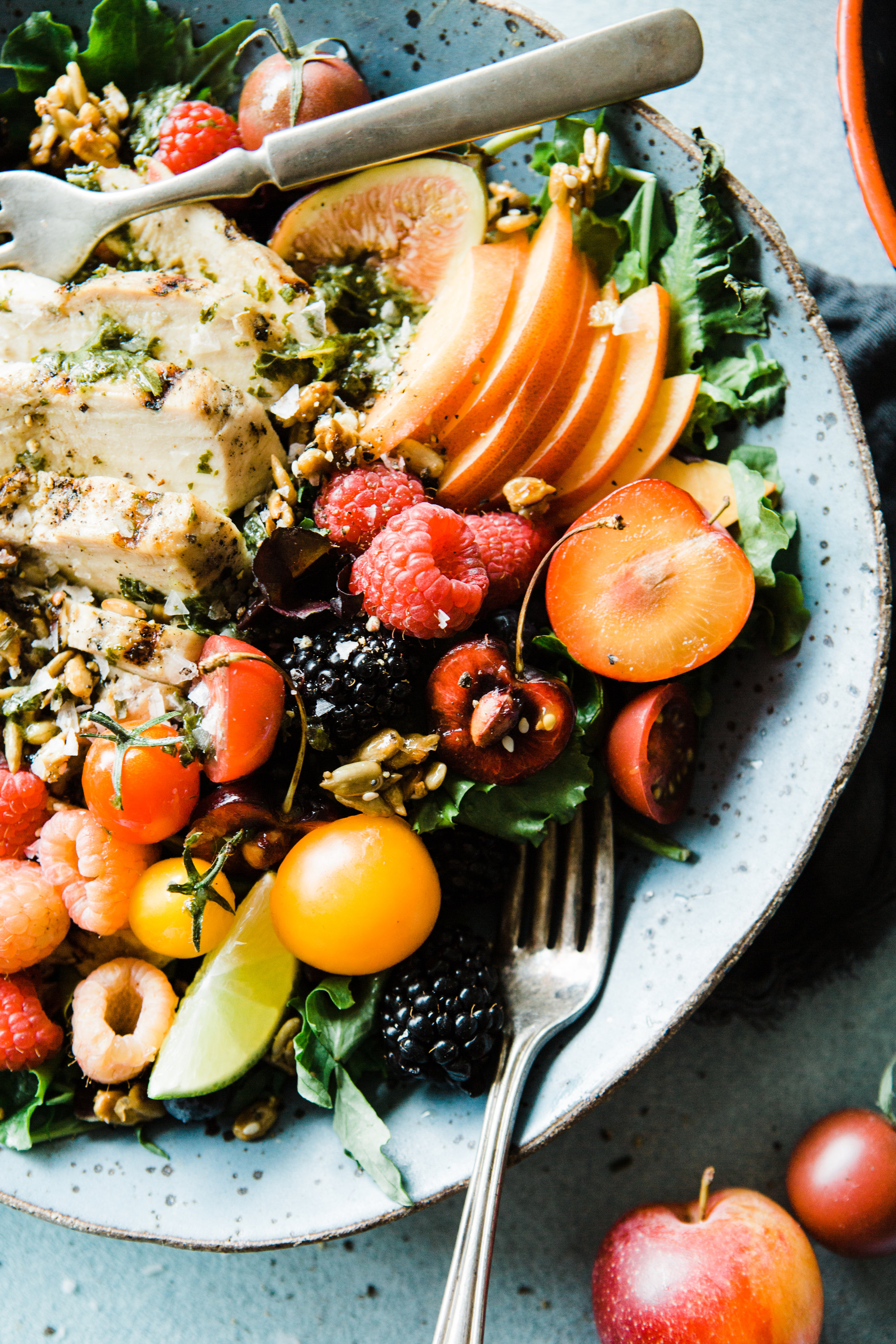 Summer Thrive Salad with Champagne Dressing