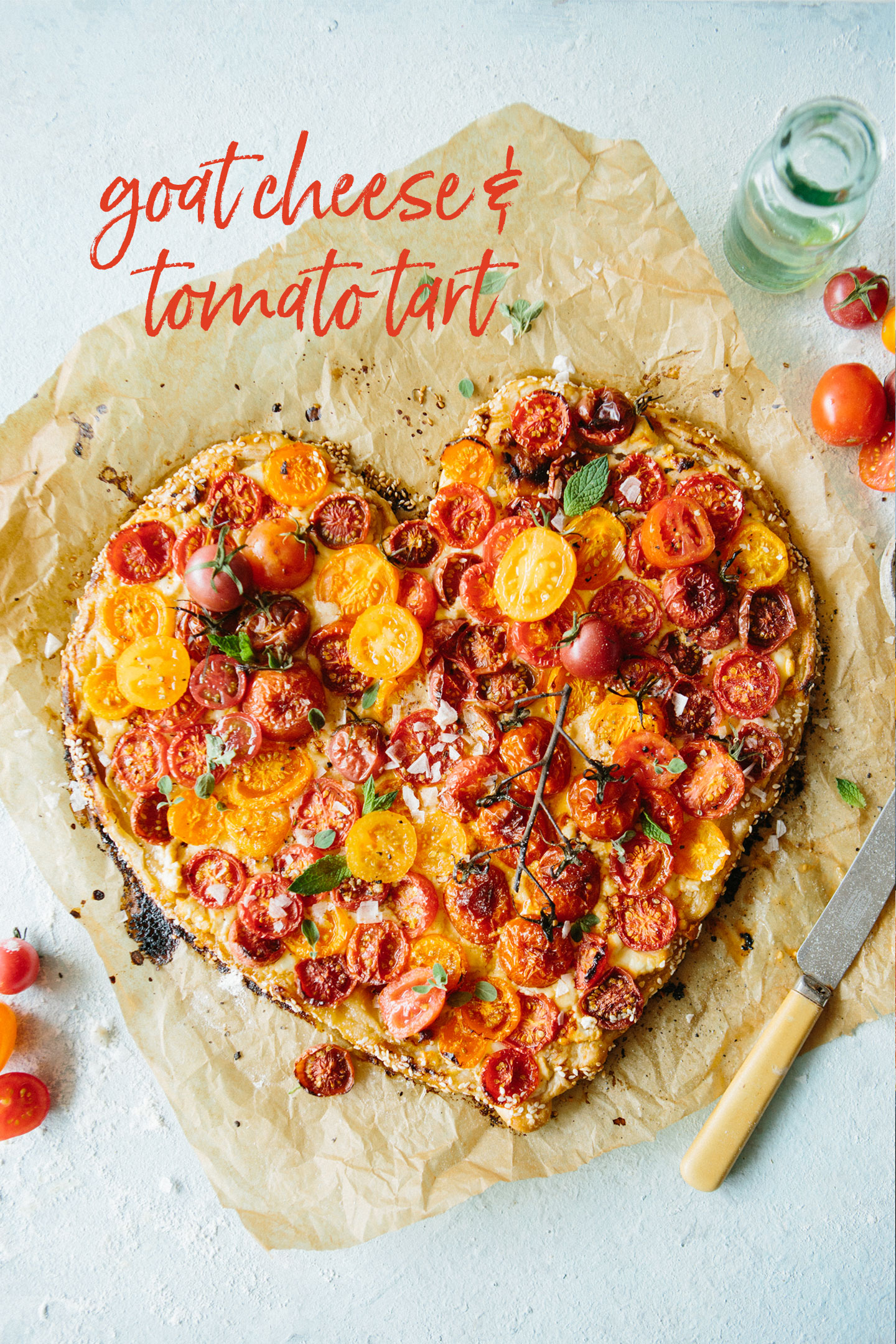How to Cook Like a Food Stylist: Goat Cheese & Tomato Tart