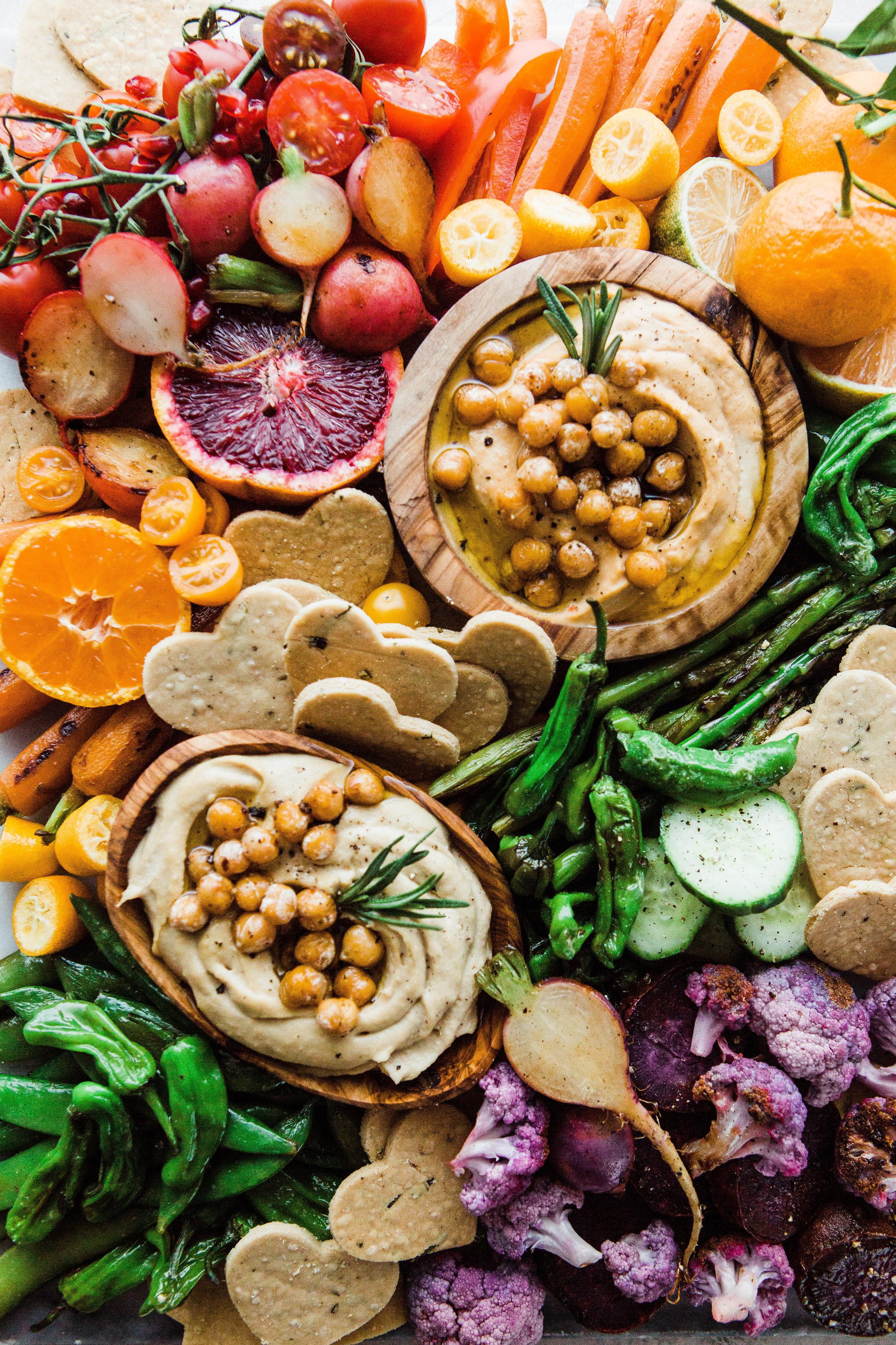 2019-01 BRM Homemade Paleo Rosemary Crackers with Cassava and Rainbow Veggie Platter 21.jpg