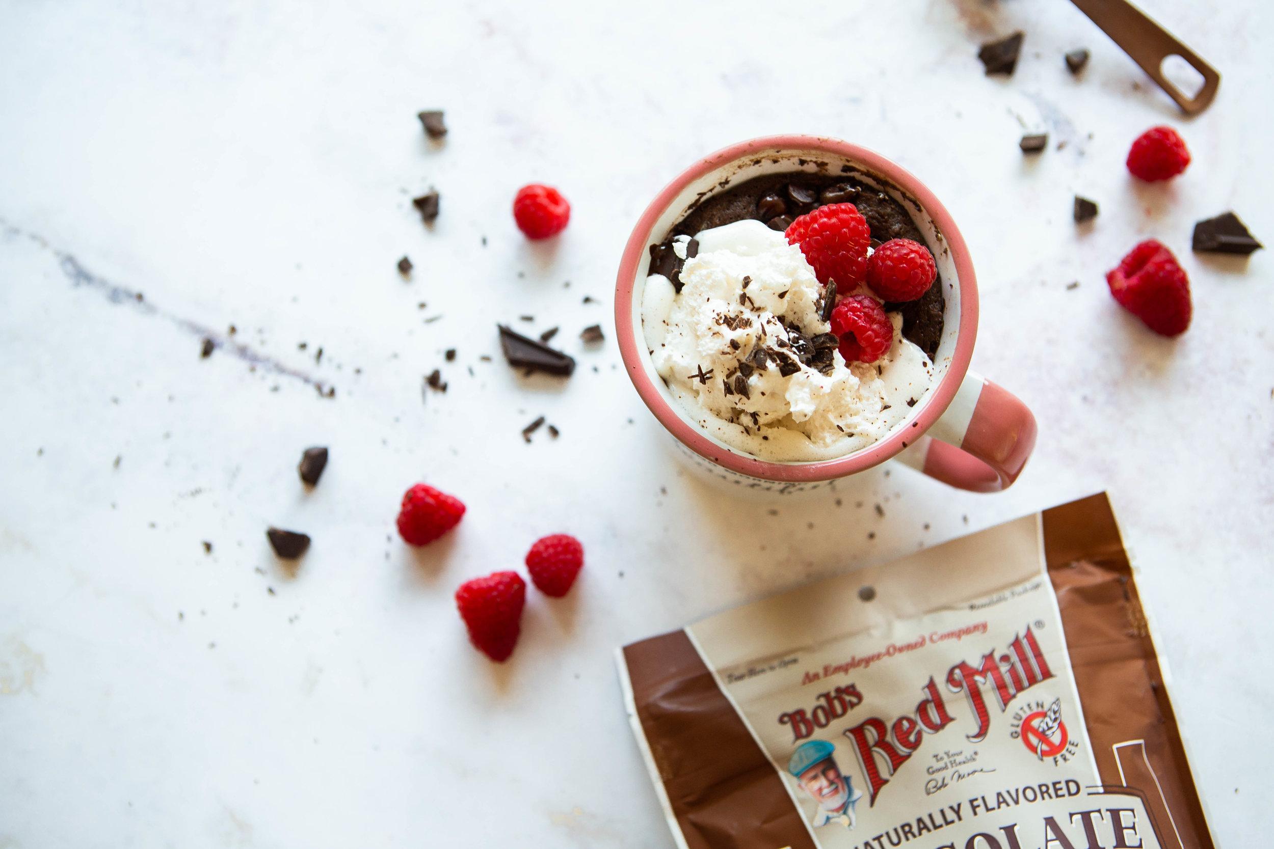 2019-08 BRM Flourless Chocolate Protein Mug Cake 6.jpg